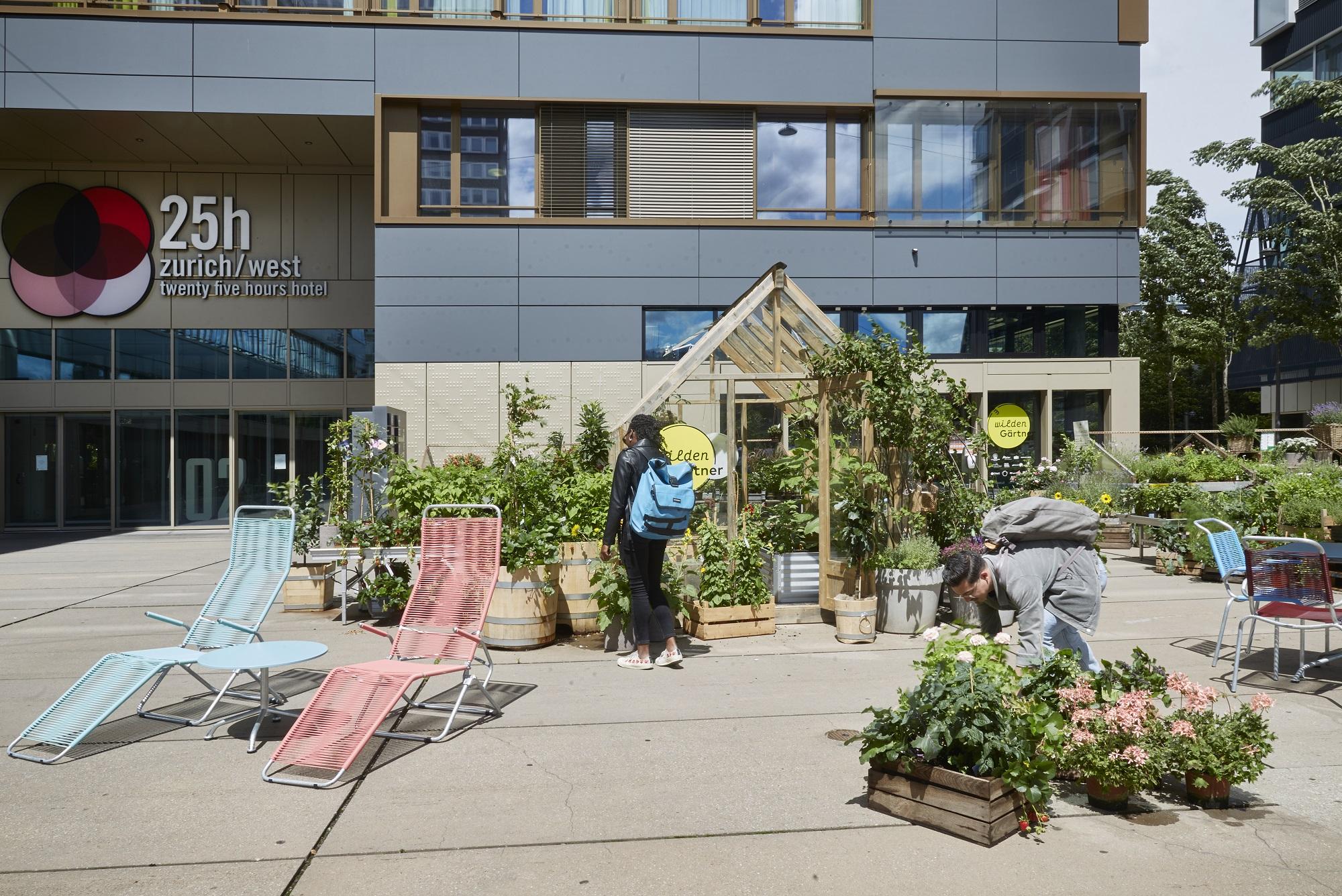Zum Wilden Gärtner, Pfingstweidstrasse 102, 25Hours Hotel Zürich West, Embru